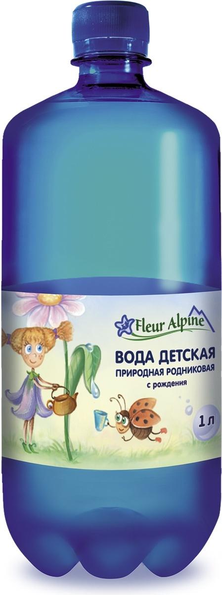 Вода детская природная родниковая, негазированная Fleur Alpine, с рождения, 1 л  #1
