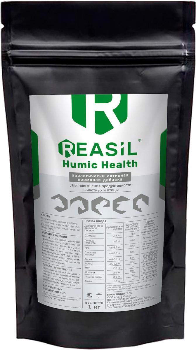 Кормовая добавка для животных и птиц Реасил (Reasil Humic Health) дойпак 1 кг  #1