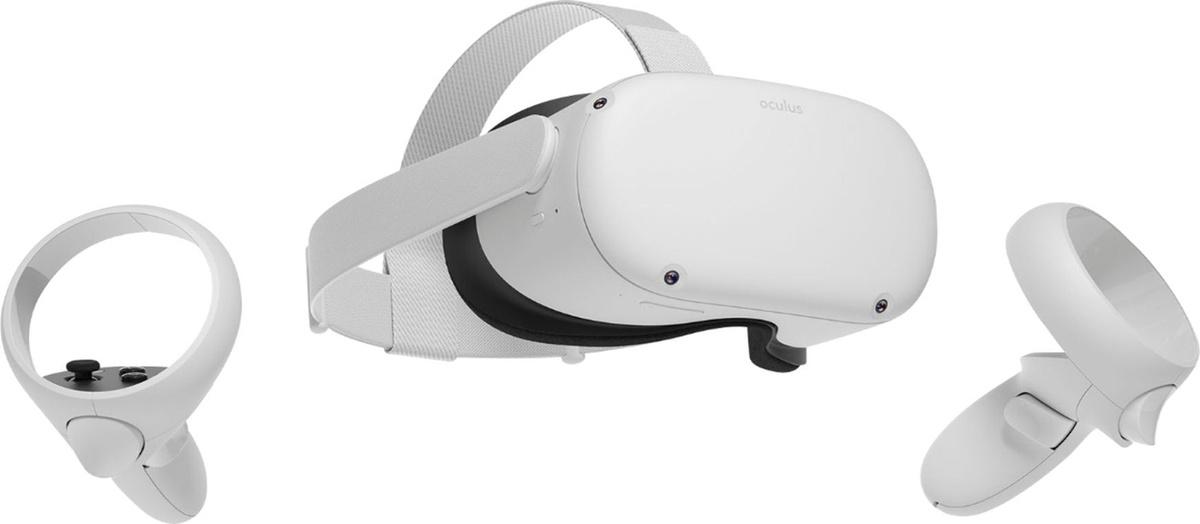 Шлем виртуальной реальности Oculus Quest 2 256 GB #1