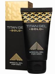 Titan Gel Gold (Титан гель голд) гипоаллергенный, стимулирующий гель-смазка, лубрикант, пролонгатор для мужчин от Hendel. Интимные гели/лубриканты
