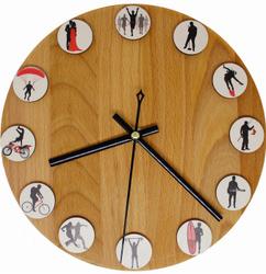 Настенные часы BRIL AGENCY, 23 см х 23 см. Настенные часы и сувениры