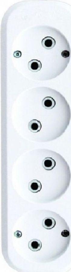 лучшая цена Удлинитель бытовой Duwi Eco, 32037 1, 4 гнезда, 5 м