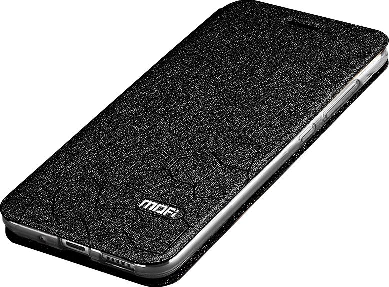 Чехол-книжка MyPads для Highscreen Power Ice Max на жёсткой металлической основе чёрный стоимость