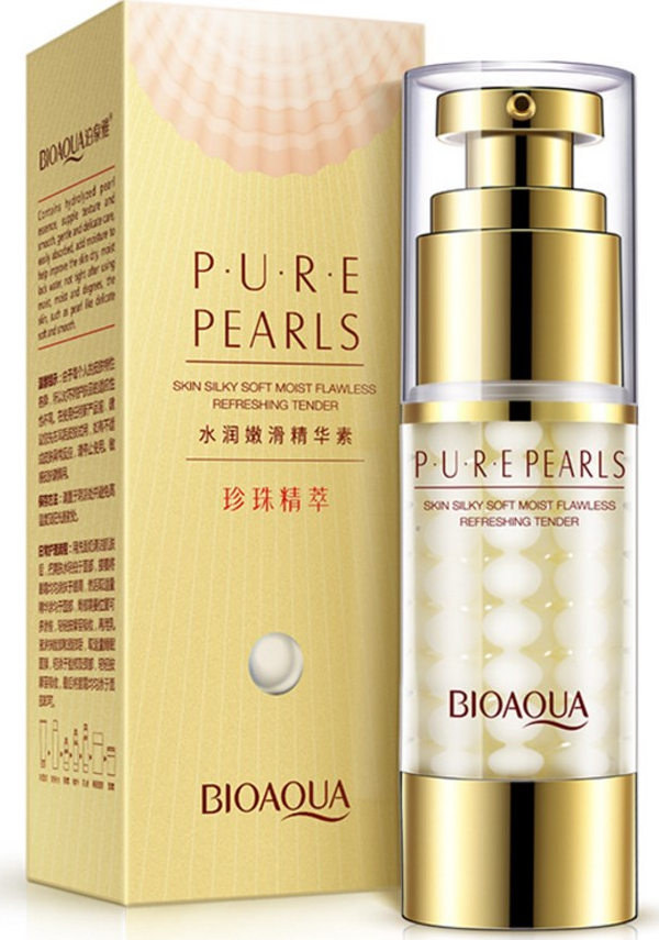 Крем для лица Bioaqua с жемчугом Pure Pearls цена в Москве и Питере