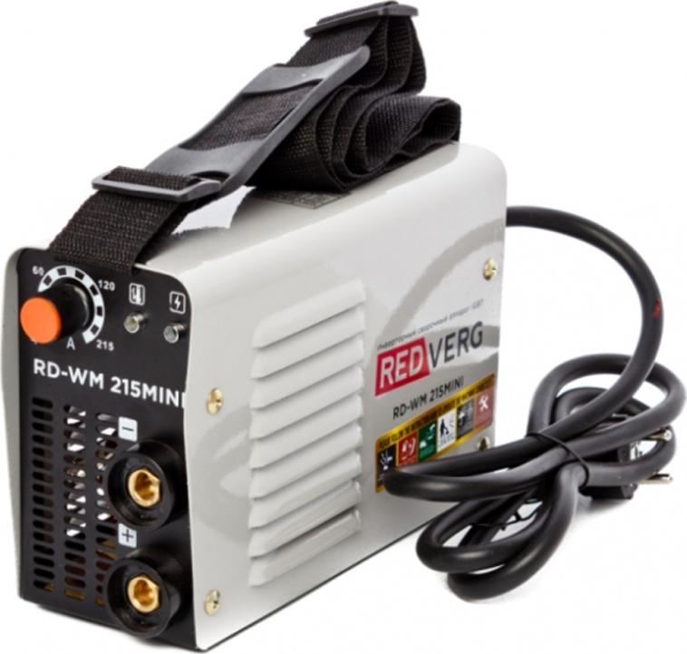 цена на Аппарат сварочный инверторный RedVerg RD-WM 215MINI