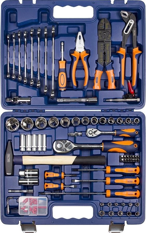Набор ручного инструмента Helfer HF000016 (99 предметов) ef521bw 1