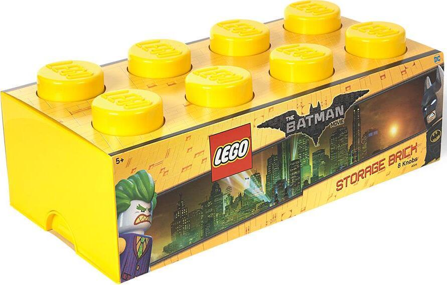 Ящик для хранения 8 LEGO BATMAN желтый