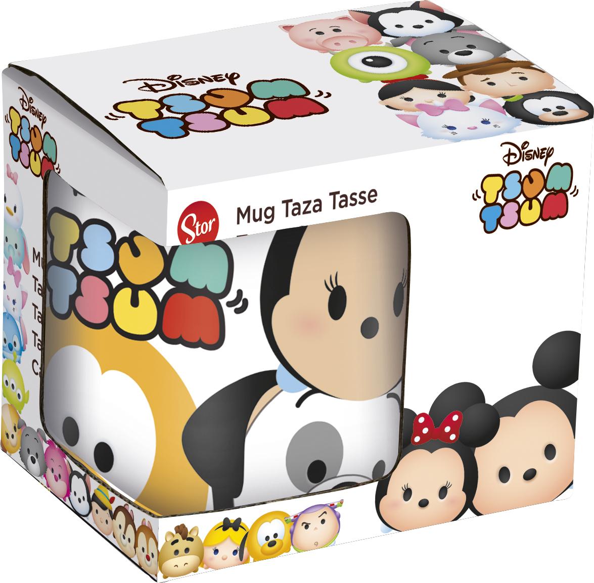 цены на Кружка керамическая Stor в подарочной упаковке (220 мл). Tsum Tsum, арт.79906  в интернет-магазинах