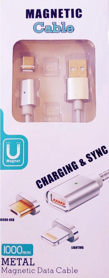 Магнитный кабель для зарядки телефона Type-C