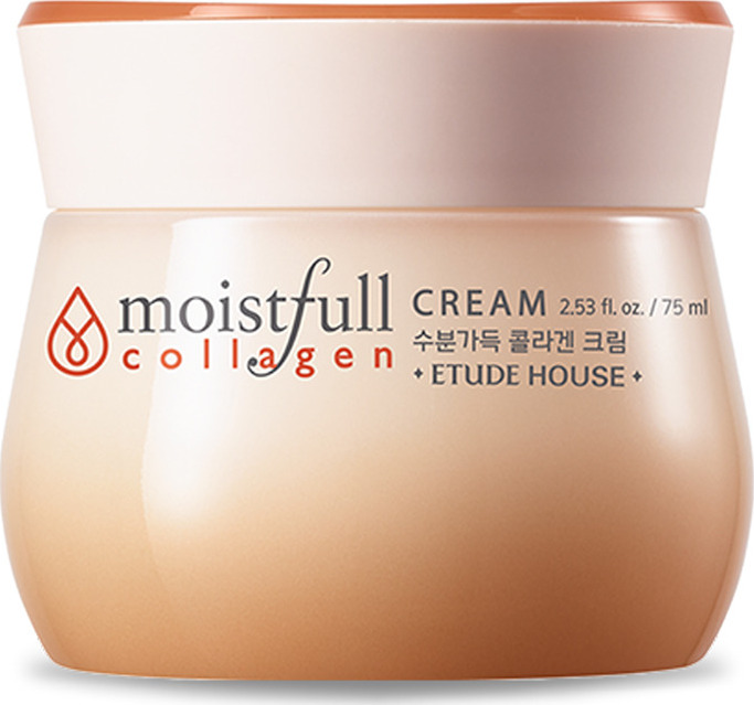 Крем для лица Etude House Moistfull Collagen Cream 75 мл стик для лица увлажняющий с коллагеном moistfull collagen stick 14 г etude house collagen