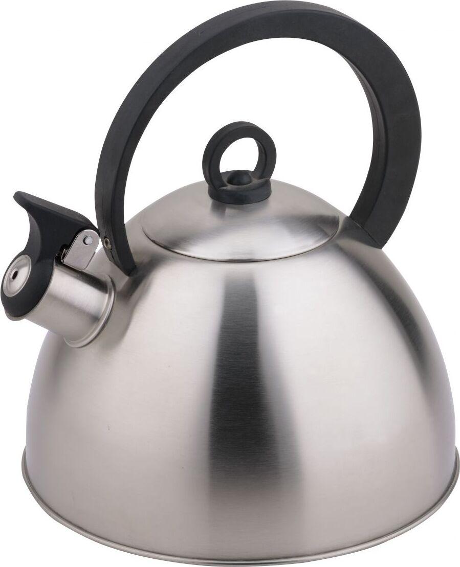 Чайник TECO, 2,8 л, со свистком, нержавеющая сталь, капсульное дно