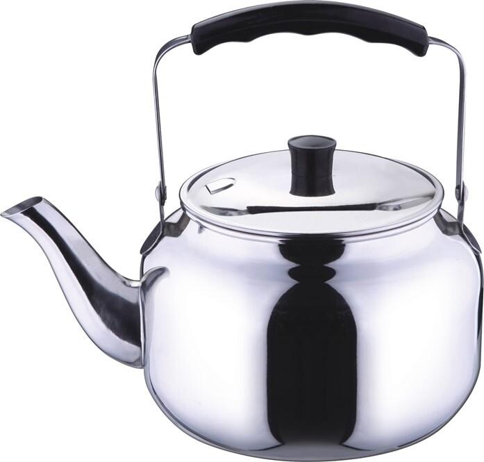 Чайник TECO, 1,1 л, нержавеющая сталь