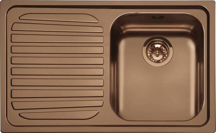 Кухонная мойка Smeg SP791SRA крыло слева