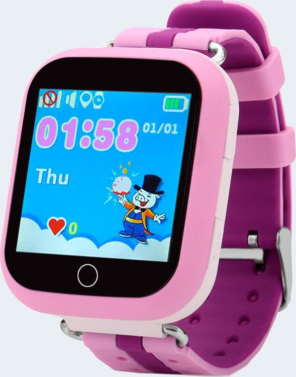 Детские GPS часы Nuobi Q750, Розовый детские часы с gps wonlex gw700s красные