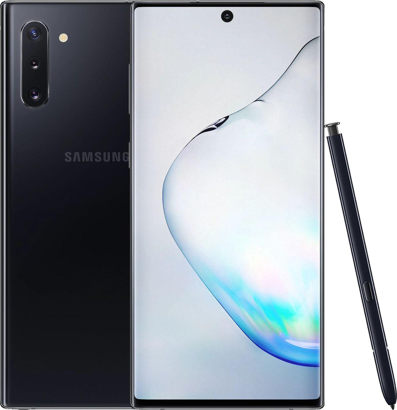 Смартфон Samsung Galaxy Note10 8/256GB, черный
