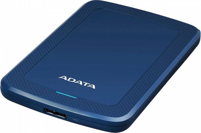 Внешний жесткий диск 2Tb ADATA HV300 Blue, AHV300-2TU31-CBL жесткий диск a data usb 3 0 2tb ahv300 2tu31 cwh hv300 2 5 белый