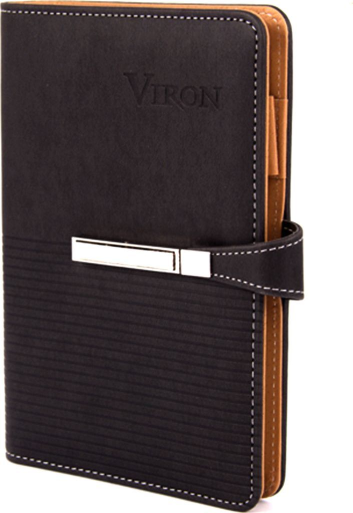 Ежедневник Viron, недатированный, 82711, коричневый, 80 листов
