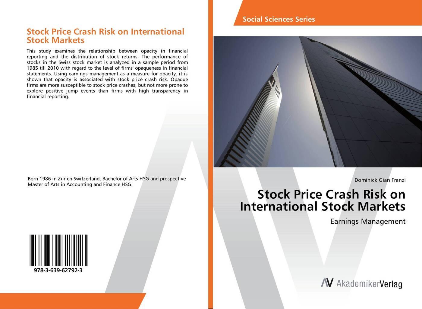 Фото - Dominick Gian Franzi Stock Price Crash Risk on International Stock Markets free shipping 10pcs a3967slbt in stock