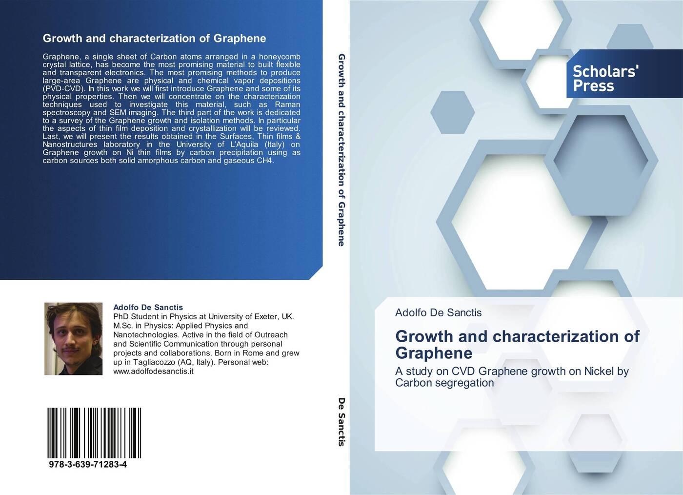 Adolfo De Sanctis Growth and characterization of Graphene стоимость