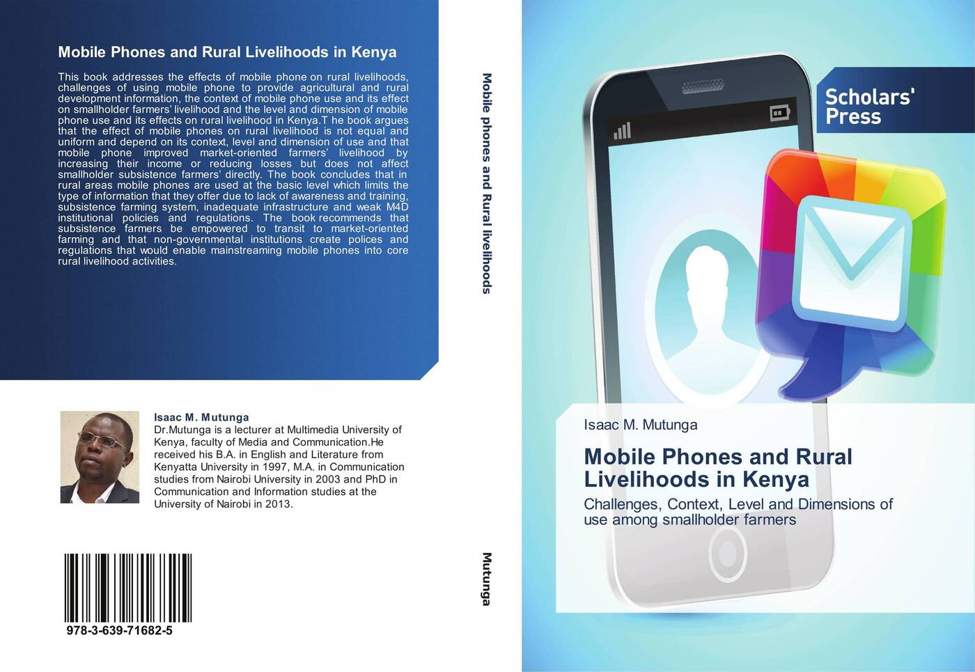 Isaac M. Mutunga Mobile Phones and Rural Livelihoods in Kenya role of social capital in rural livelihood promotion