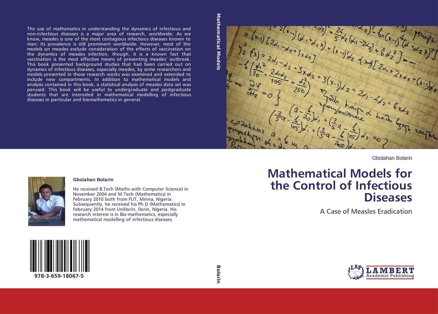 Gbolahan Bolarin Mathematical Models for the Control of Infectious Diseases r donati mathematical fundamentals of trajectory dynamics