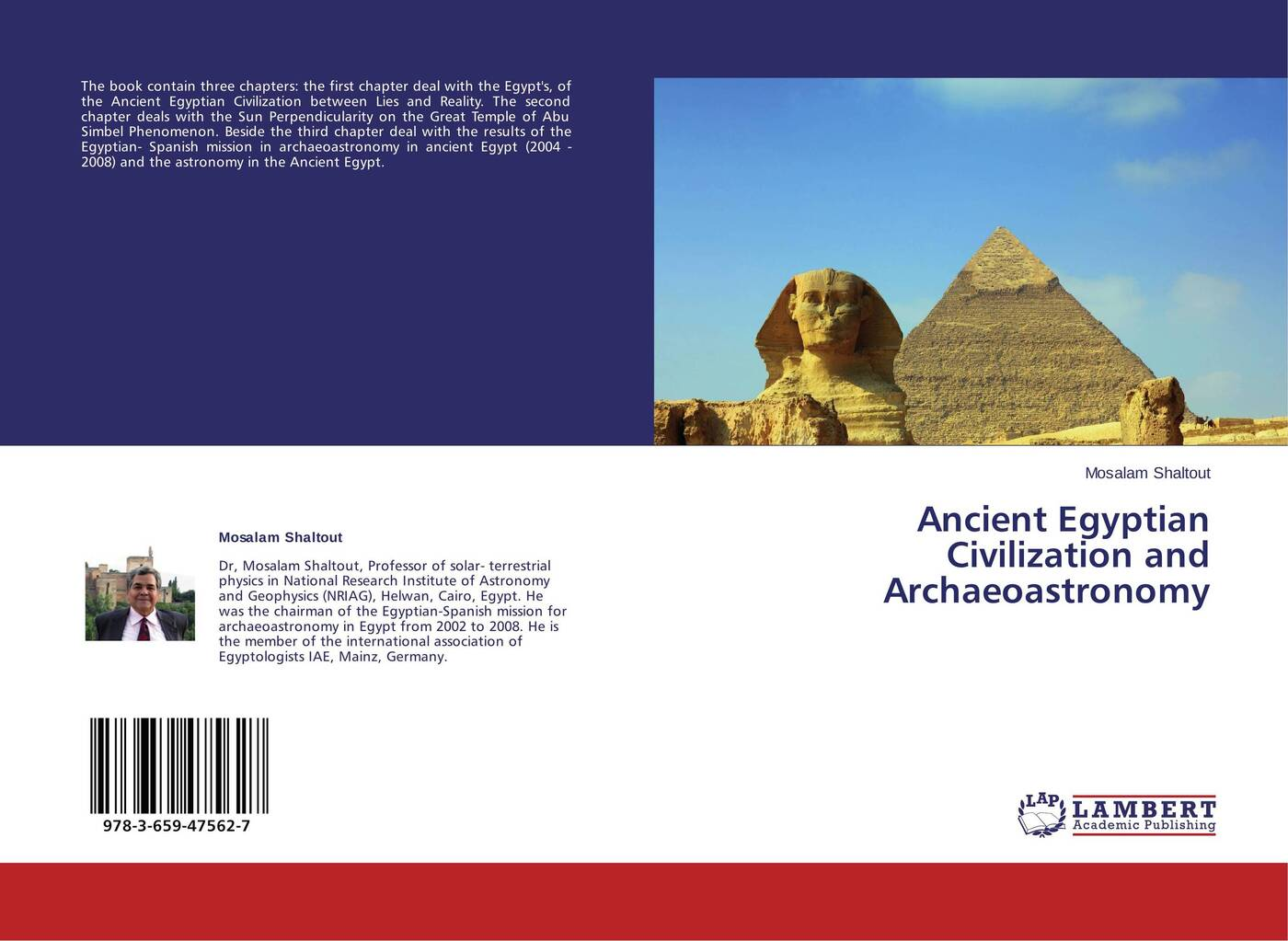 Mosalam Shaltout Ancient Egyptian Civilization and Archaeoastronomy куртка the ancient with the vintage