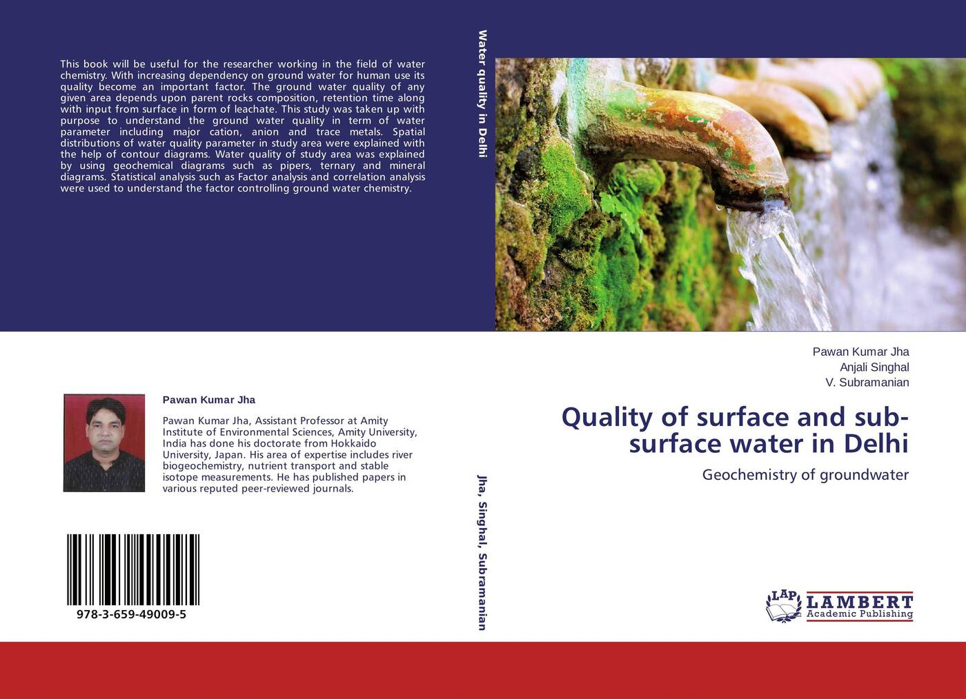 Pawan Kumar Jha,Anjali Singhal and V. Subramanian Quality of surface and sub-surface water in Delhi ktm silicone car surface water wiper scraper tool blue white