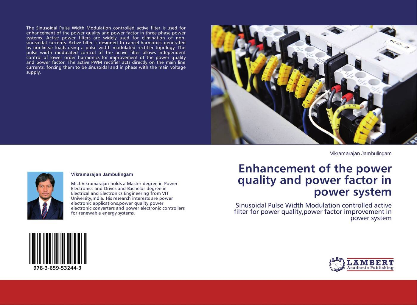Vikramarajan Jambulingam Enhancement of the power quality and power factor in power system power supply bn44 00770a psfl940h06a l40hfp esm is used