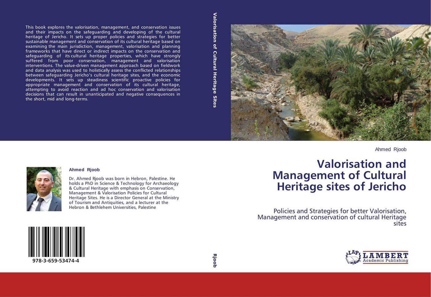 Ahmed Rjoob Valorisation and Management of Cultural Heritage sites of Jericho mariam bachich community based rural heritage management in syria