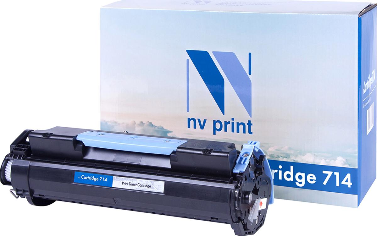 Картридж NV Print, для Canon Fax L3000 i-Sensys / L3000ip i-Sensys, NV-714, черный NV Print