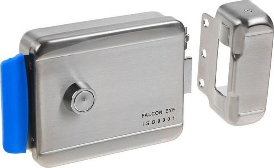 FE-2370Накладной электромеханический замок (хромированный), универсальный Falcon Eye