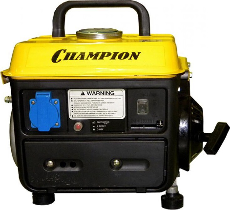 Генератор CHAMPION GG950DC (0,65/0,72 Квт OHV 2лс 2-хтакт. 4,2л 15,9кг 0,7л/ч 12V)CHAMPION