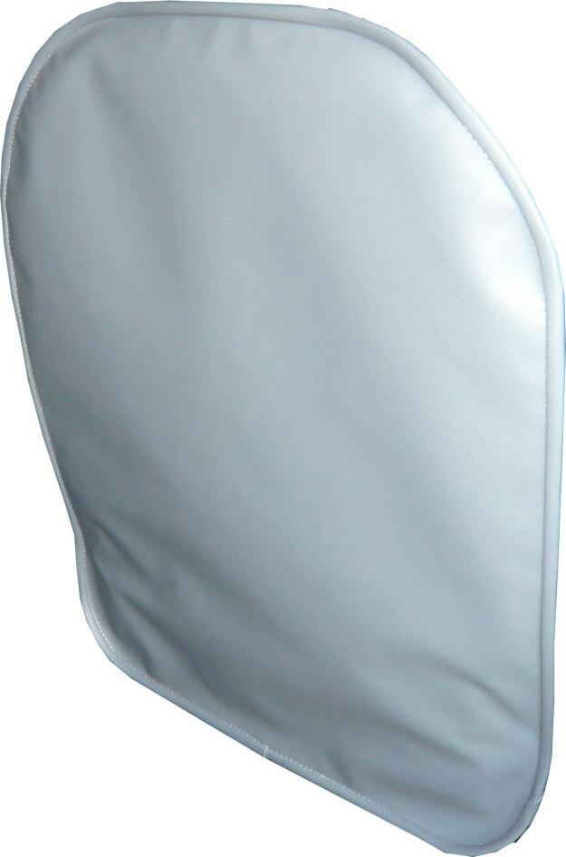 Lux Cover защитный чехол на спинку переднего сиденья из экокожи (Серый)