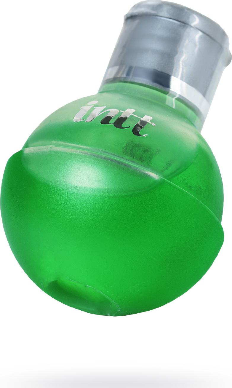 Массажное масло для поцелуев INTT FRUIT SEXY Mint с разогревающим эффектом и ароматом мяты, 40 мл.