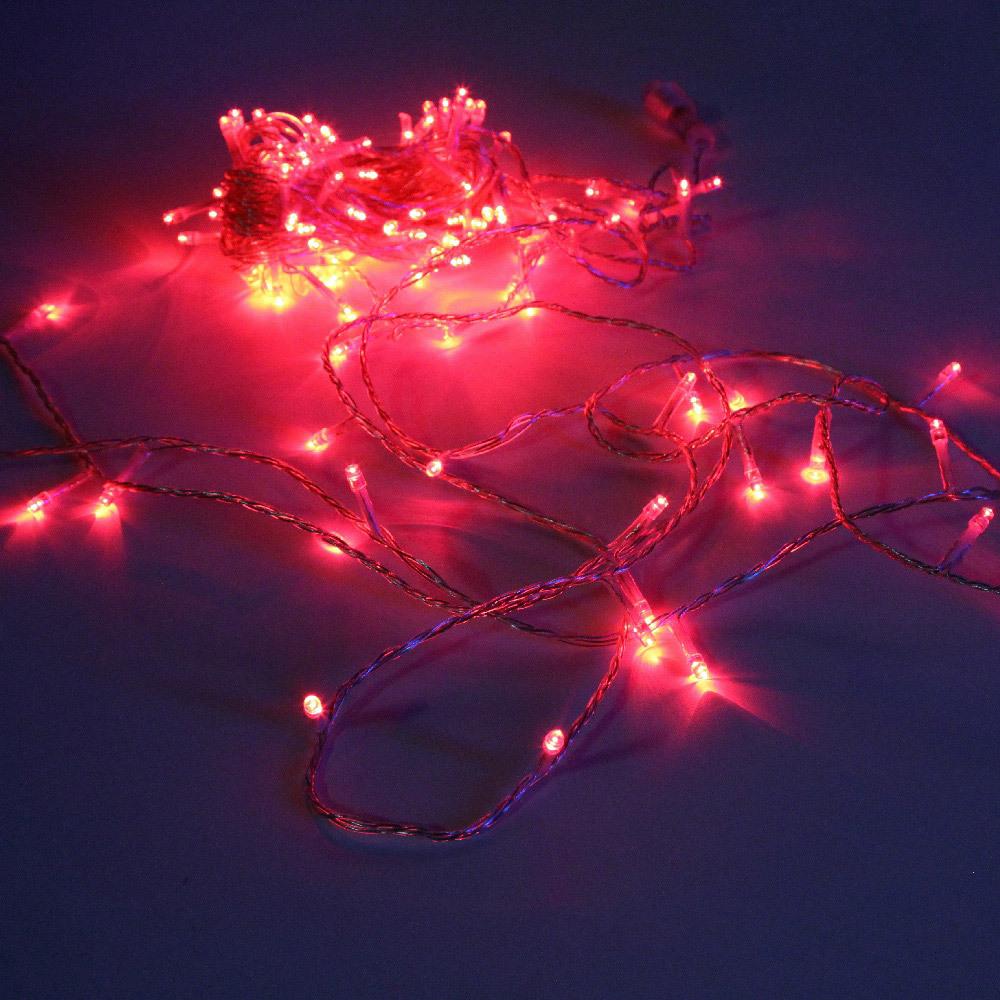 Гирлянда-нить SH Lights LD120-R-E, 12 м, 120 светодиодов, цвет: красный