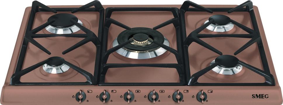 Встраиваемая независимая газовая варочная панель Smeg SPR876RAGH Smeg