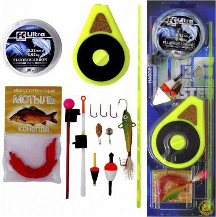 Набор рыболовный Ice Master для зимней рыбалки №2 Макси, 204078
