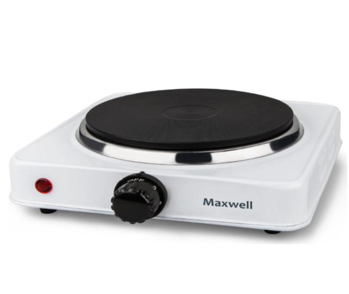 Плитка электрическая Maxwell, 1000 Вт Максимальная потребляемая мощность...
