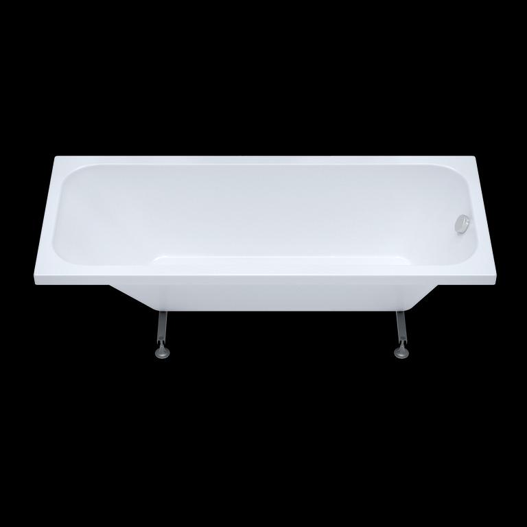 Акриловая ванна Triton Ультра 160x70 прямоугольная