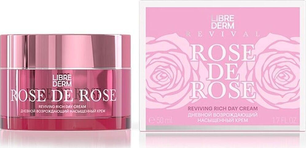 Крем Librederm Rose De Rose Возрождающий, насыщенный, дневной, 50 мл Librederm
