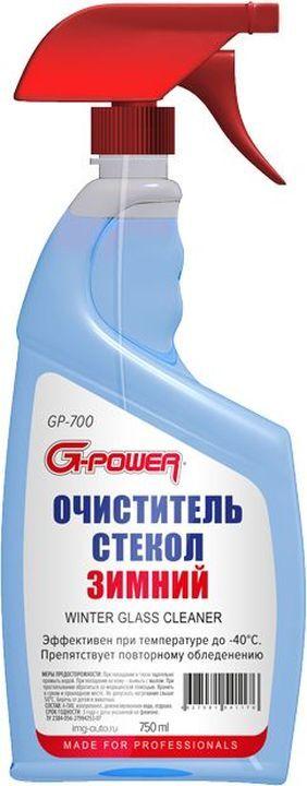 Очиститель стекол G-Power, до -40°С, 750 мл