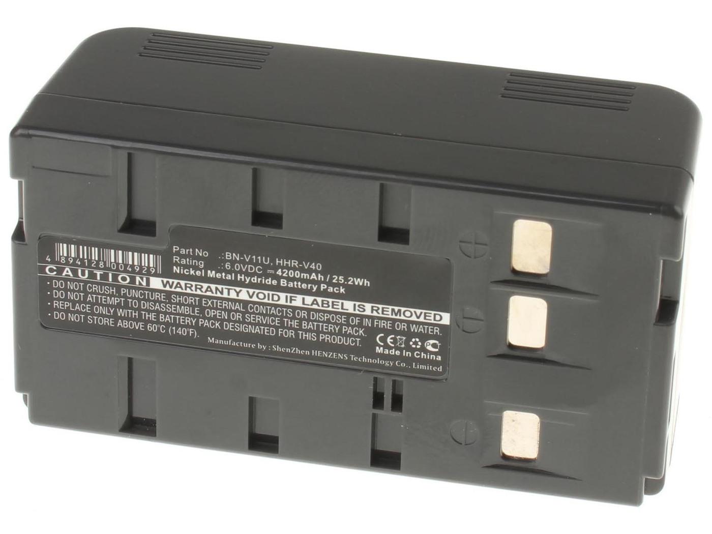 Аккумуляторная батарея iBatt iB-T2-F178 4200mAh для камер JVC GR-SV3, GR-SXM730U, GR-AX227, GR-AX401, GR-AX627, GR-FX17, GR-SX26, GR-AX33, GR-AX7, GR-DV10, GR-FX10, GR-FX11, GR-FXM38, GR-SXM48, GR-SXM750U,  для Panasonic NV-S20, NV-G202, NV-61,