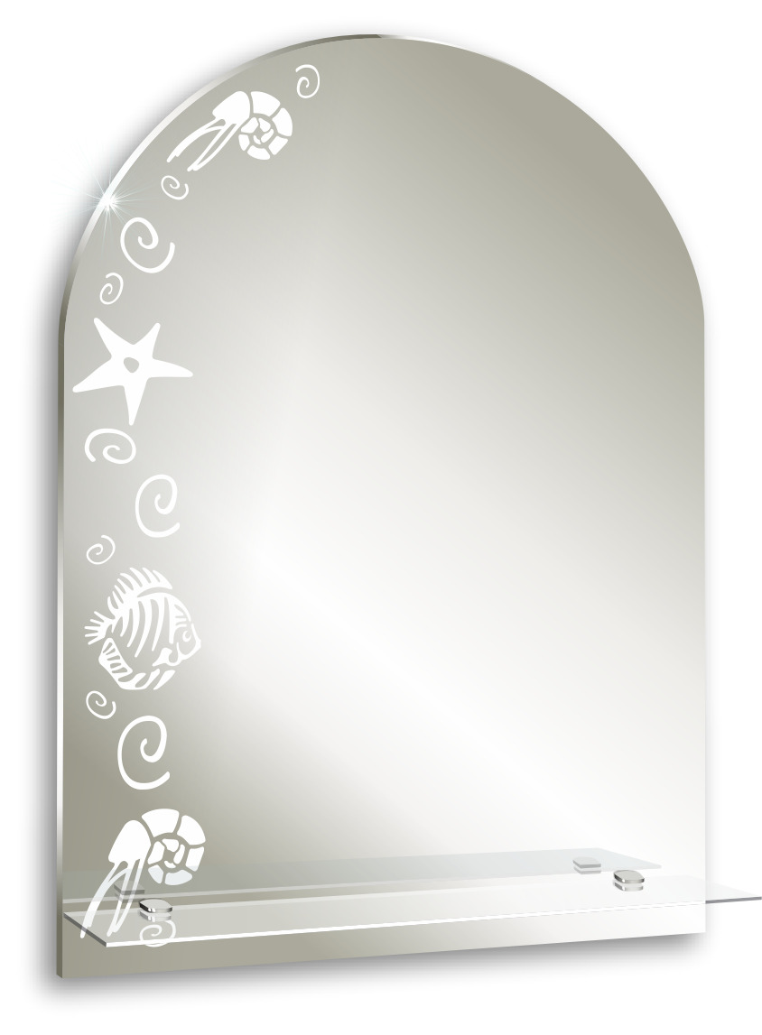 Фото зеркал с рисунком