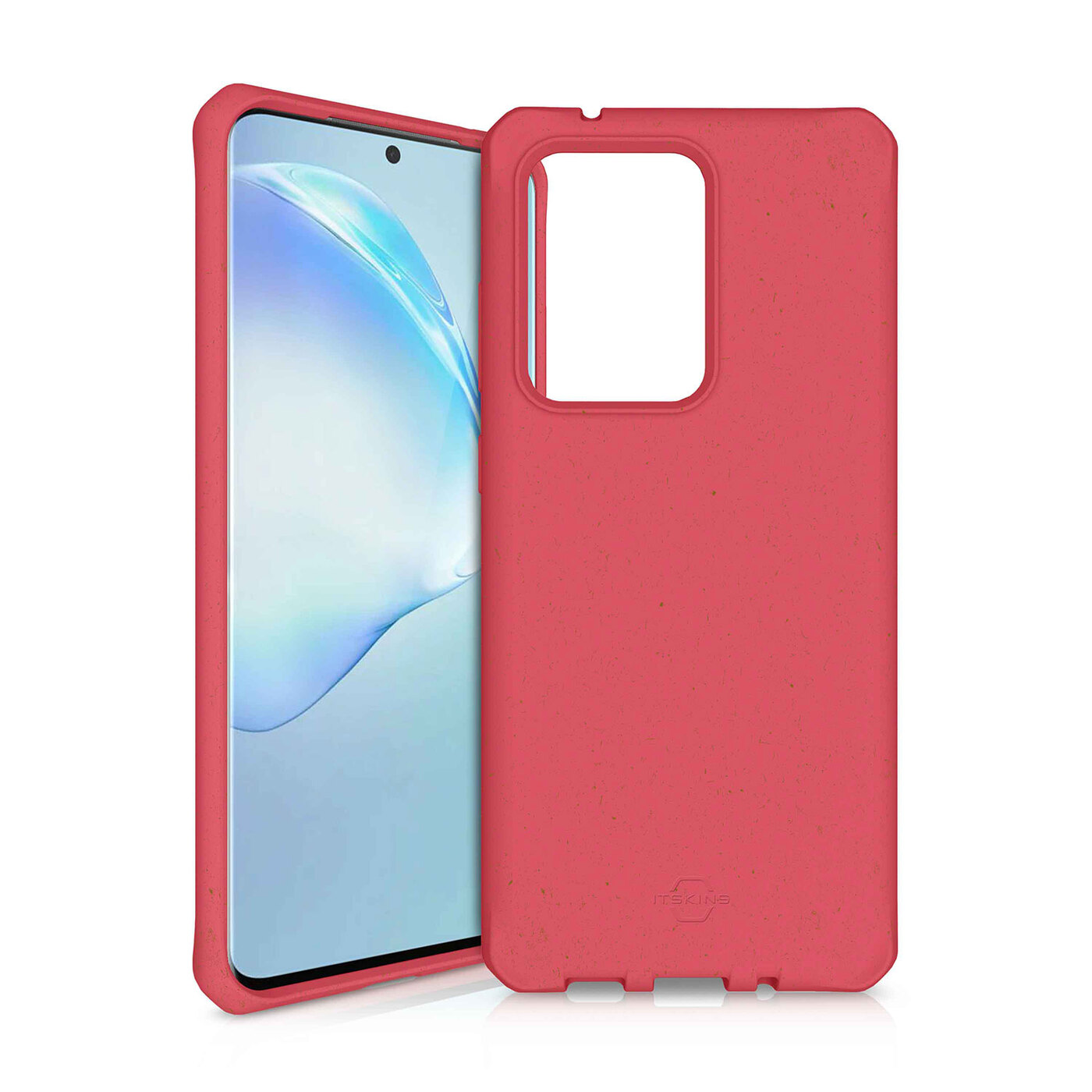 Чехол-накладка ITSKINS FERONIA BIO для Samsung Galaxy S20 Ultra, красный