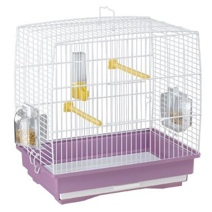 клетка для птиц ferplast record 1 цветная 35.5х24.7x37