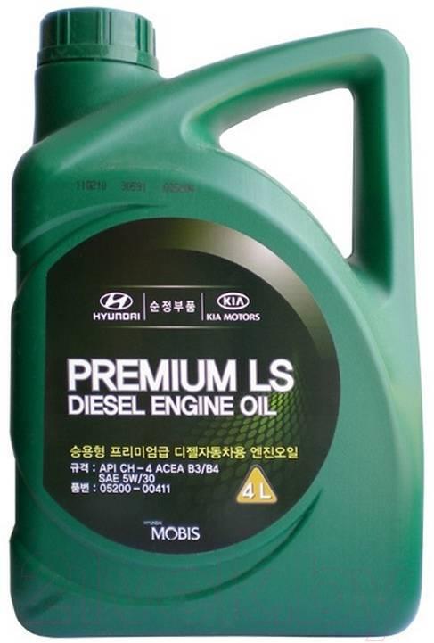 Hyundai-KIA Hyundai Premium Ls Diesel Sae 5w-30 B3/B4 Сн-4 4 Л