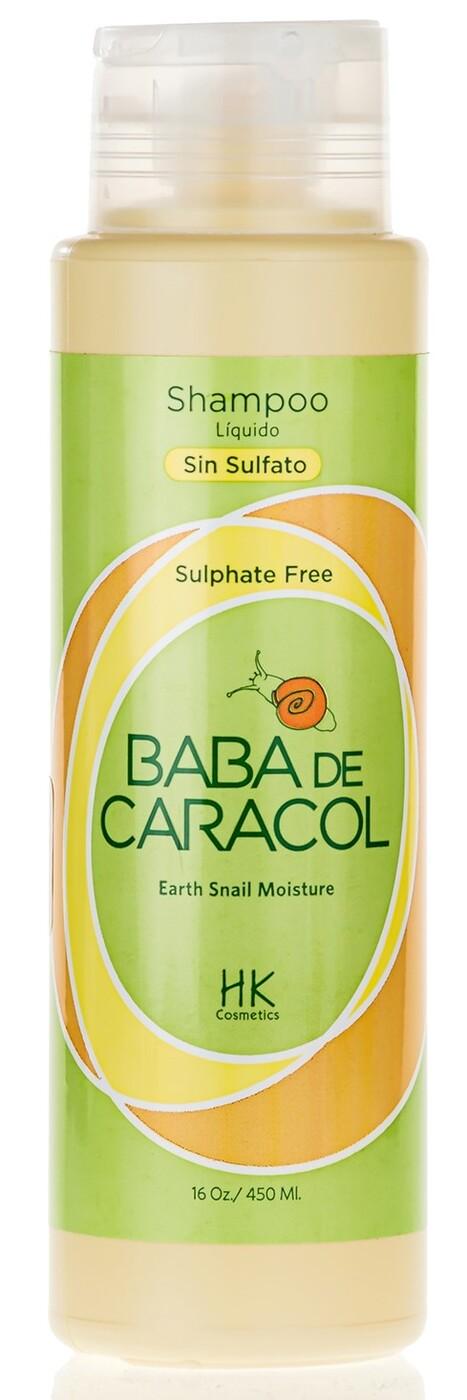 Baba De Caracol Восстанавливающий шампунь из слизи улитки без сульфата из Доминиканы, 453 г