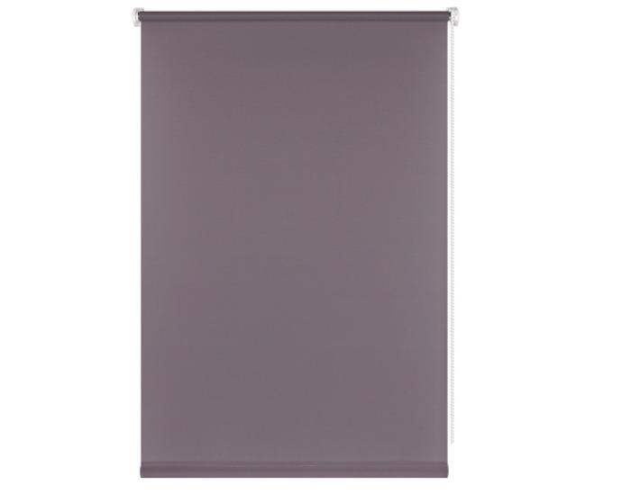 Штора рулонная, 70x160 см, цвет темно-серый-20488