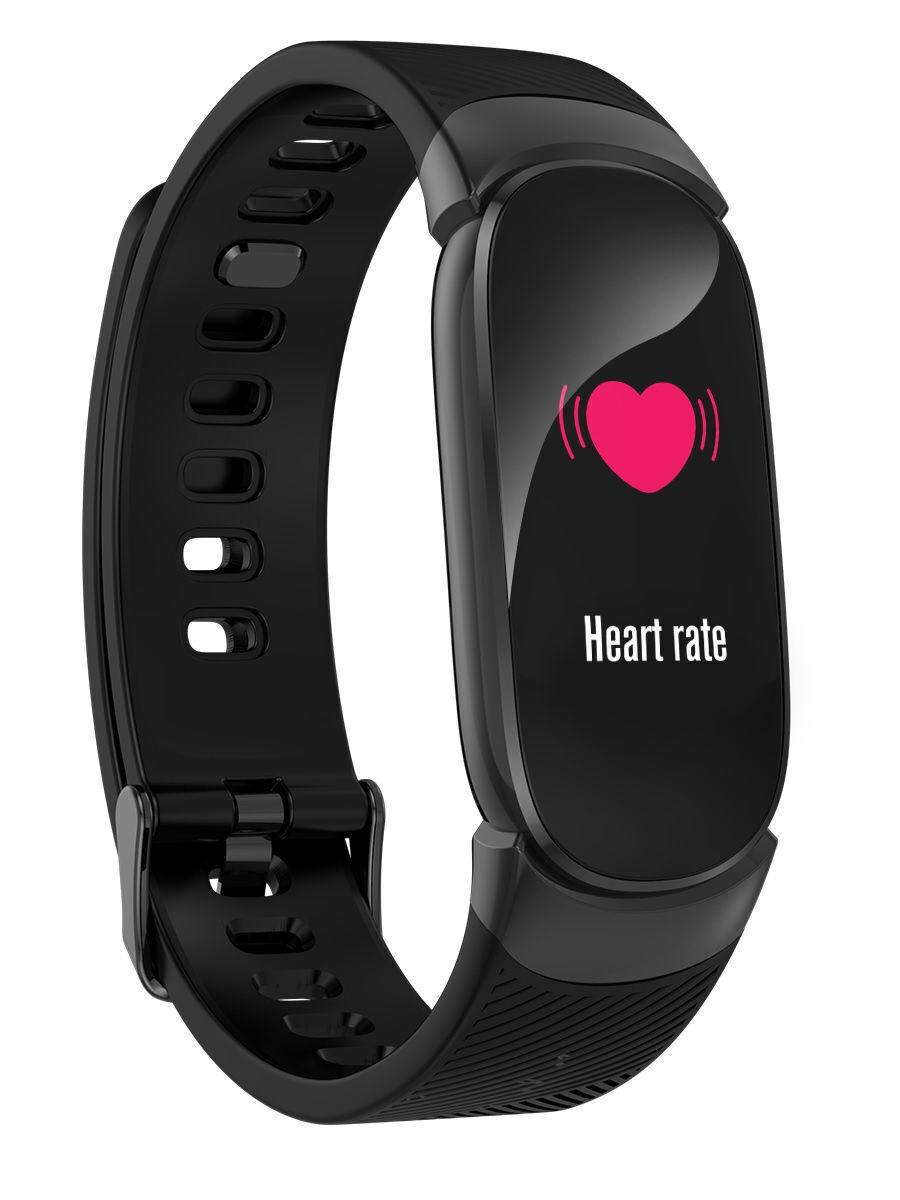 фитнес-браслет hydra qw16, черный