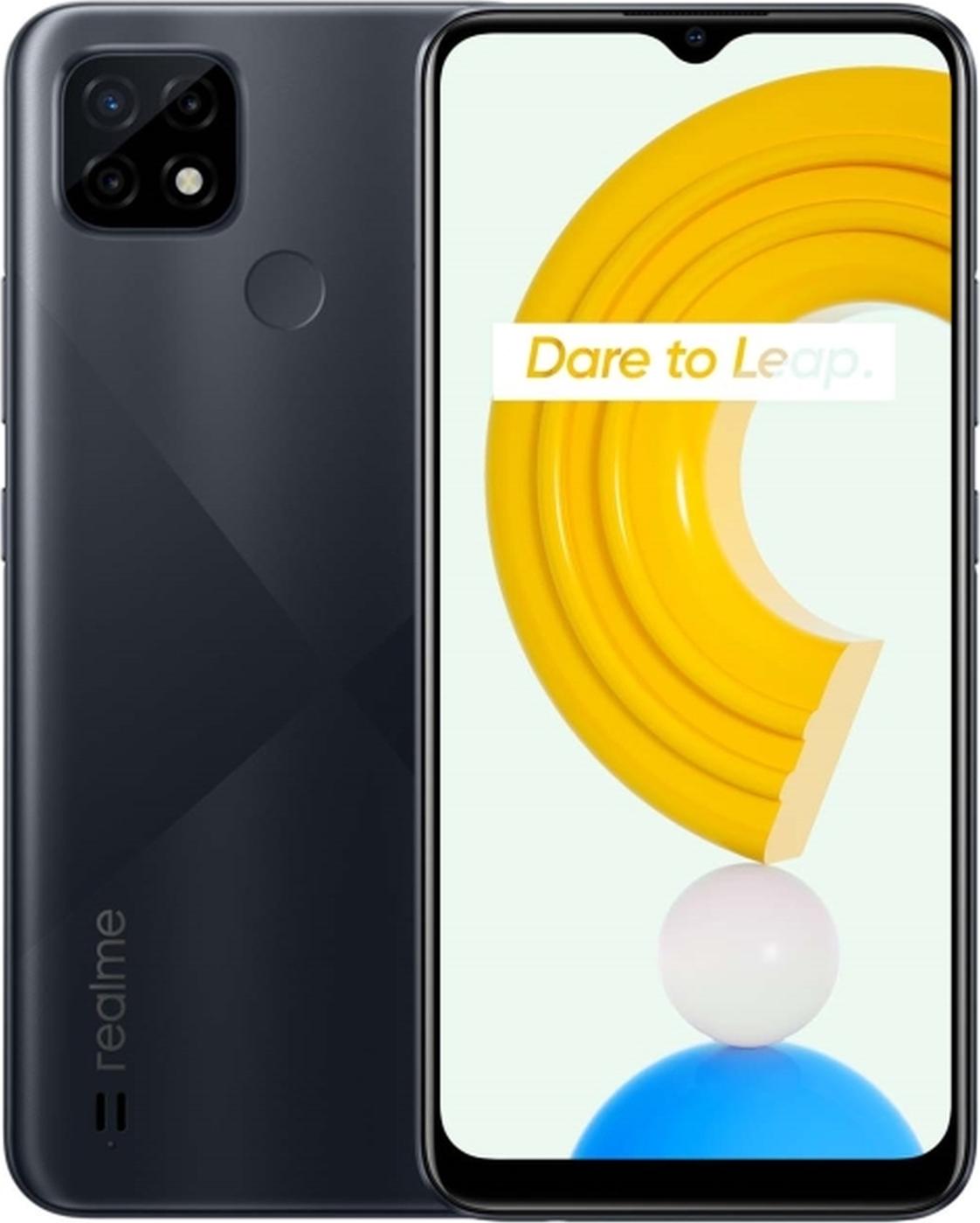смартфон realme с21  3/64gb, голубой